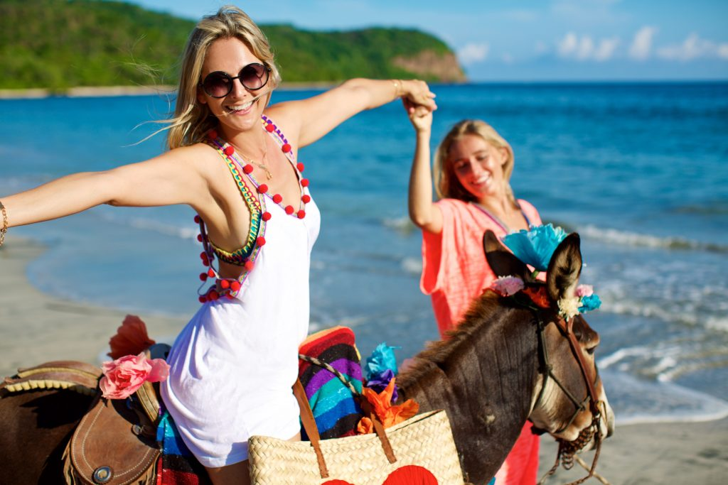 Emmanuelle Boutin, proprietary of Punta Mita's La Isla Mita Exquisite Boutique
